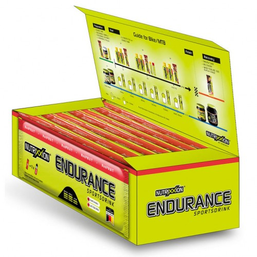 Ізотонік Endurance RedFruit BOX (7 порцій по 500 мл)